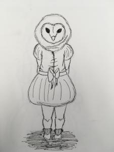 Owl Girl Storyboard 9