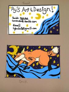 My Informal Business Cards